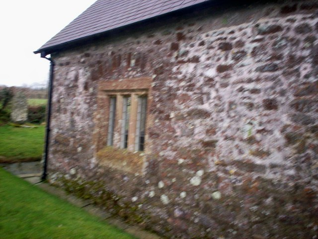Ciffig Church - North Side - Window Detail