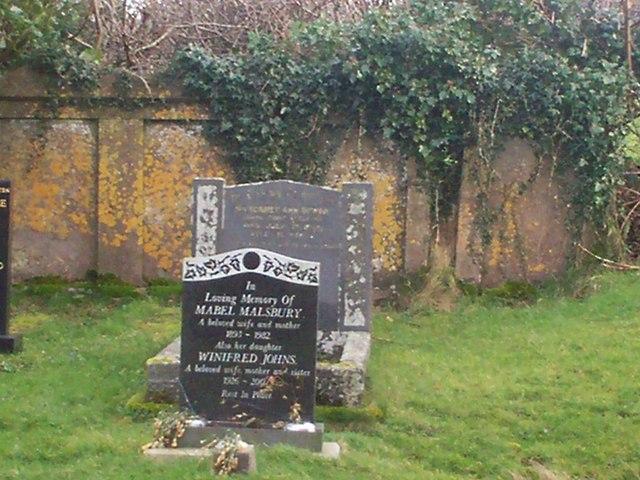 North Graveyard, Ciffig Church