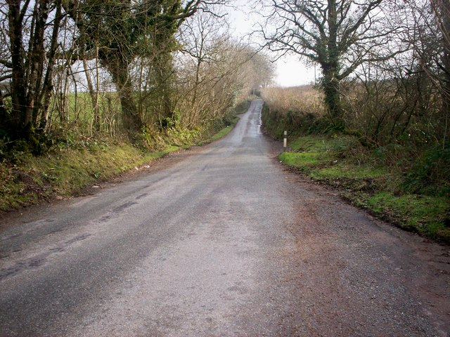 Road South from Broomylake, Llanteg