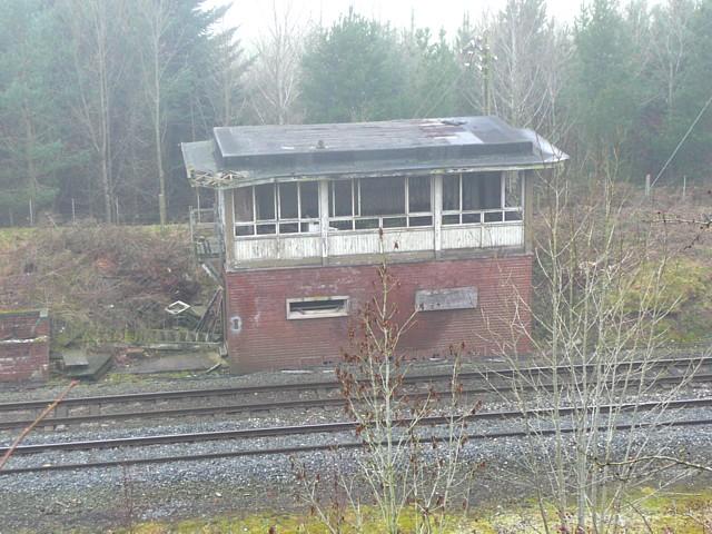 Ghostly signal box, Little Salkeld