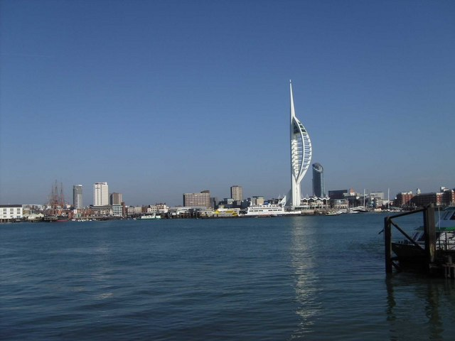 View of Portsmouth from Gosport (2009)