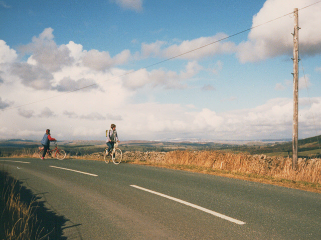 Cyclists at Butter Haw