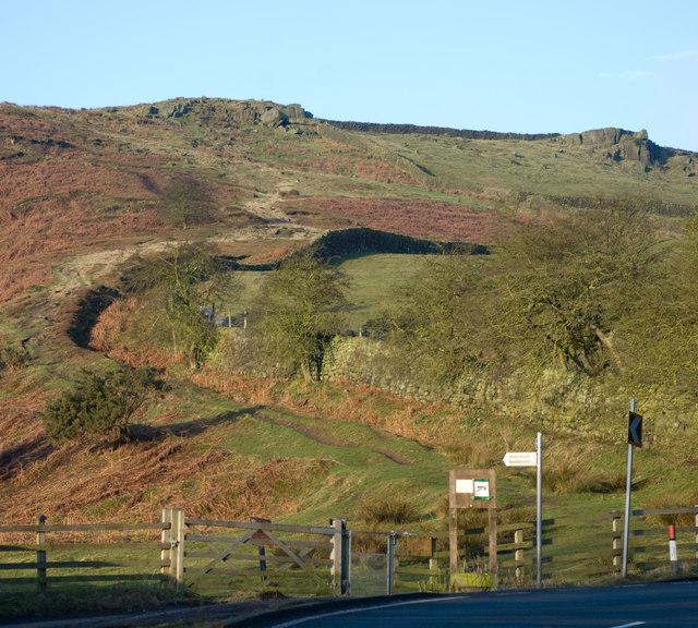 Footpath to Burley Moor