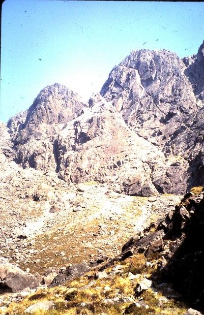 Upper Coire Lagan