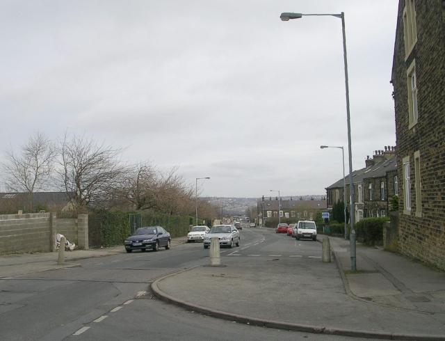 Scotchman Road - viewed from Jesmond Avenue