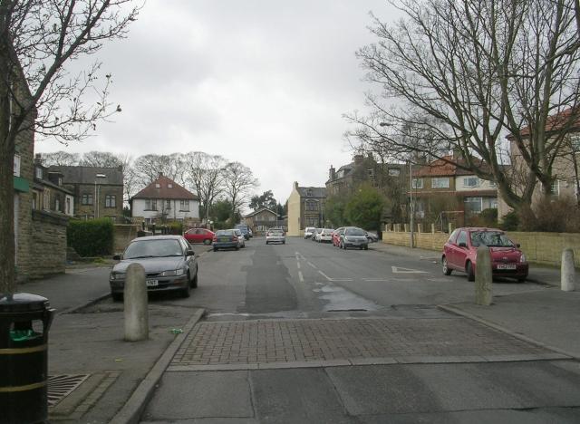 Scotchman Road - viewed from Jesmond Avenue