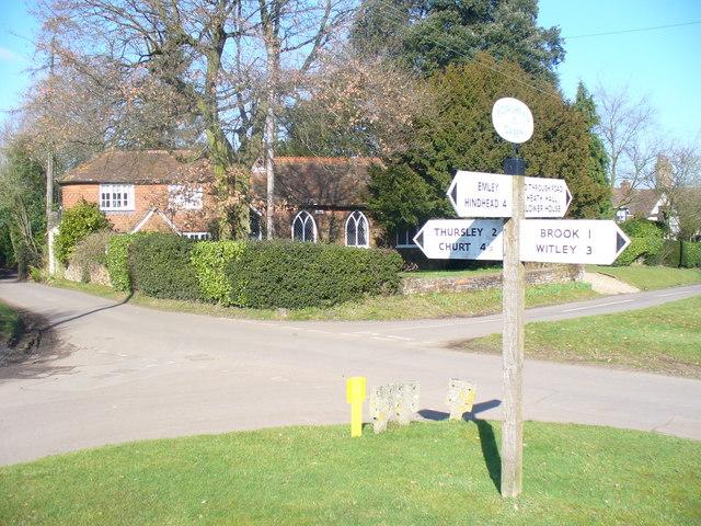 Bowlhead Green Crossroads