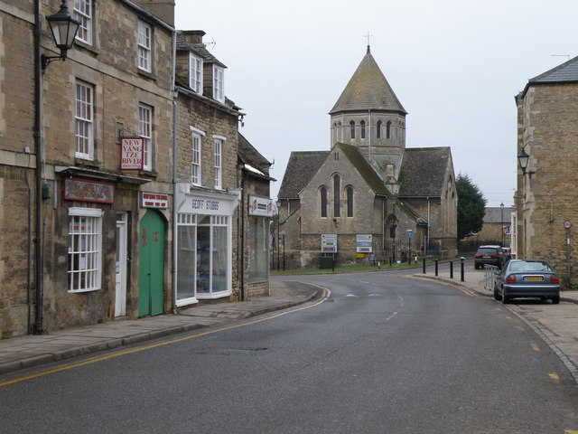 West street and the Catholic Church