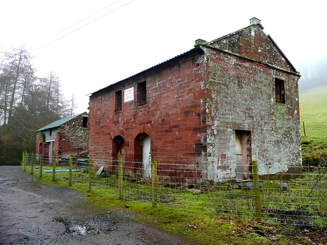 Disused farm buildings, Little Salkeld