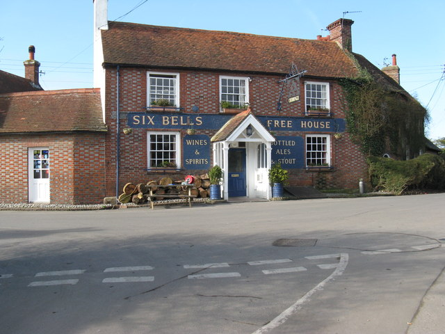 The Six Bells at Chiddingly