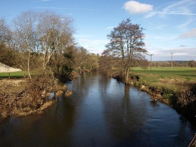 River Teign above Chudleigh Knighton