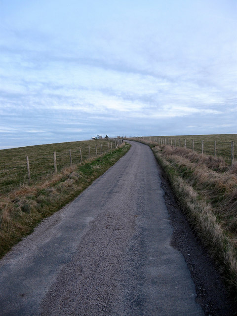 Blackcap Farm Access Road