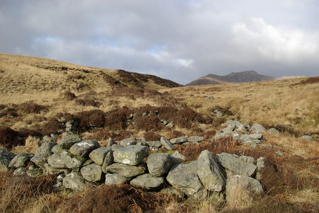 Shielings beside the Garbh Allt