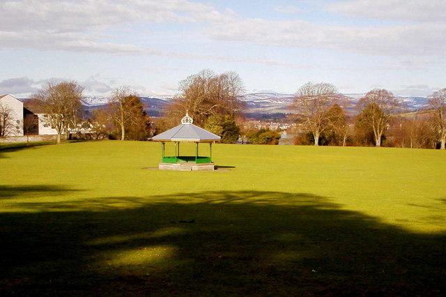 Band Pavilion in Reid Park, Forfar