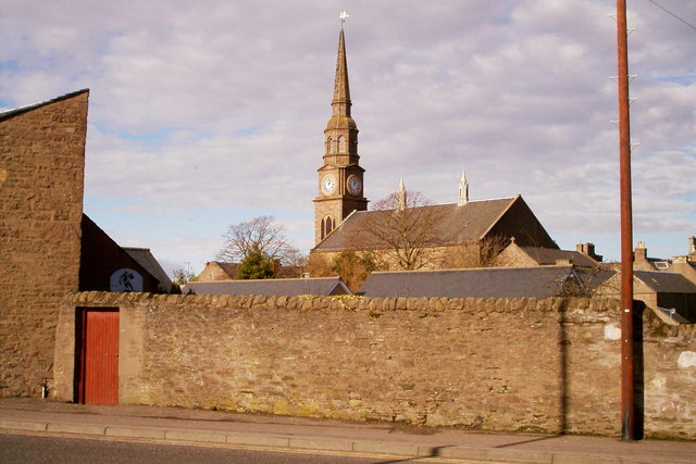 View of Forfar Steeple