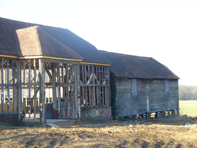Barn by Parsonage Farm
