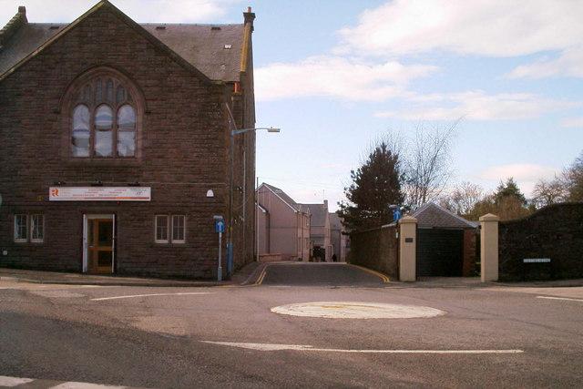 View of Chapel Street, Forfar