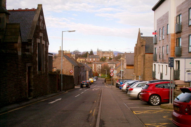 View of Green Street, Forfar
