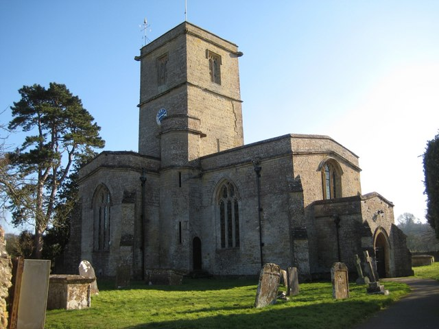 Church of St Mary  South Perrott - North side