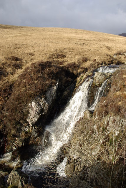 Waterfall on the Garbh Allt