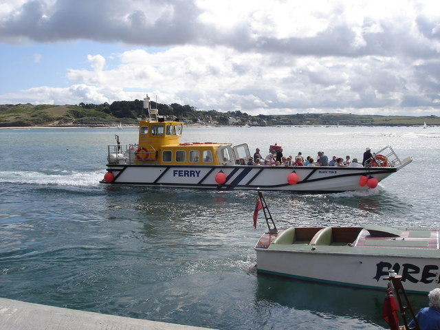 Padstow - the ferry from Rock