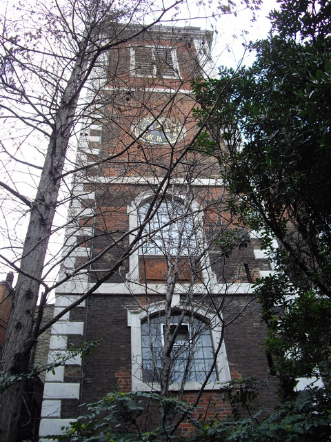 St Andrew-by-the-Wardrobe Tower