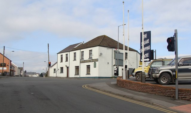 Cross Hands Hotel at the crossroads