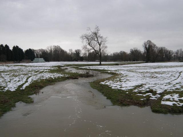 Snow melt, Oundle