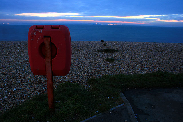 Lifebuoy on the Front at Lee-on-the Solent