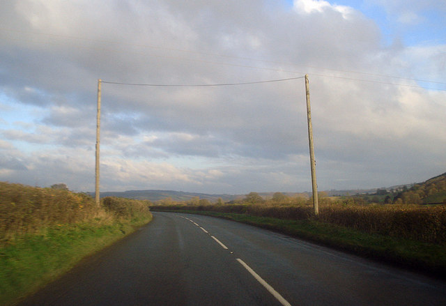 Cable over the A4110