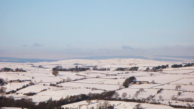 Snow on Winshield Crags