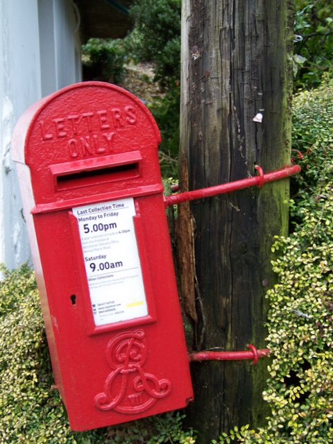 Edward VII postbox, Wherwell