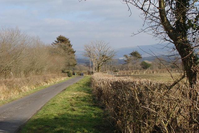 Approaching Wenallt