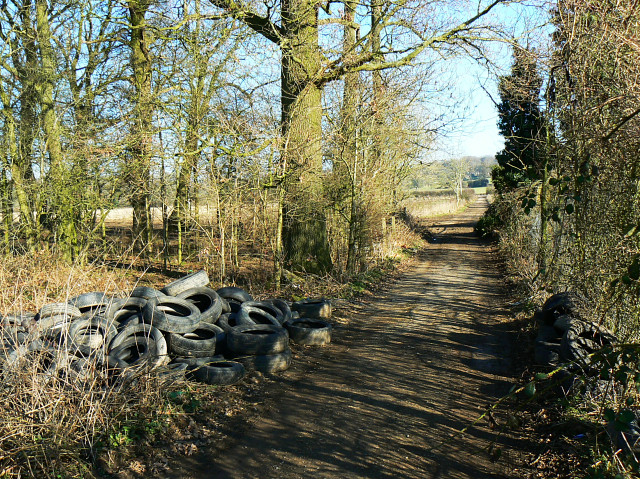 Tyred out, near Compton Bassett