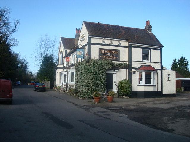 The Sidney Arms Public House, Chislehurst, Kent