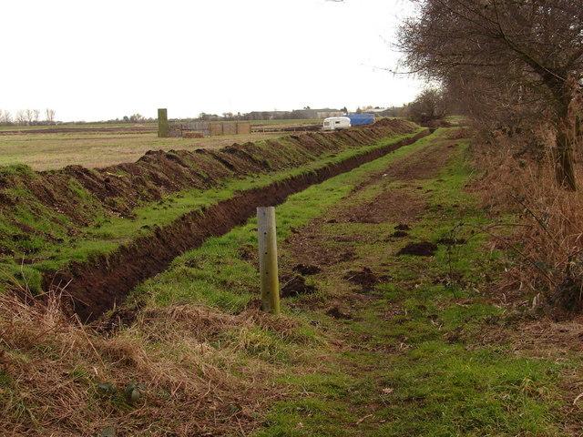 Drainage work