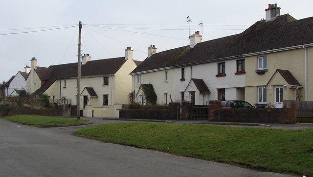 Houses at Love Lane, Cowbridge