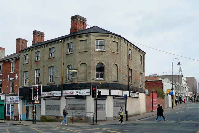 Junction of Victoria and Cleveland Streets, Wolverhampton