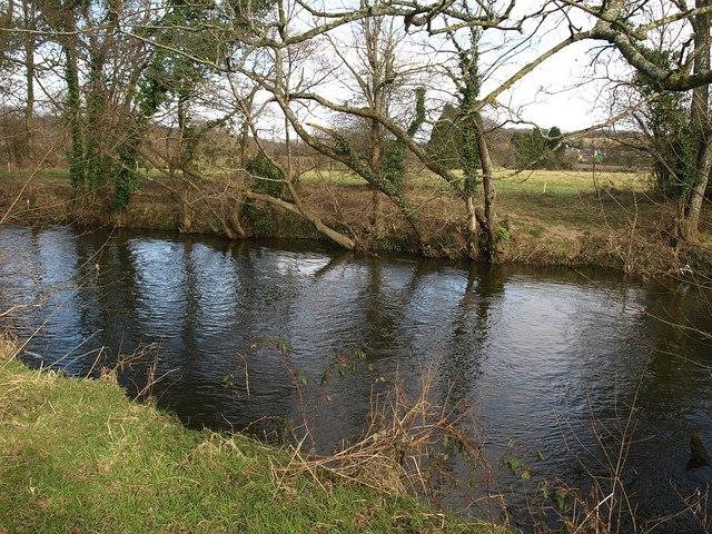 River Teign below Chudleigh Knighton