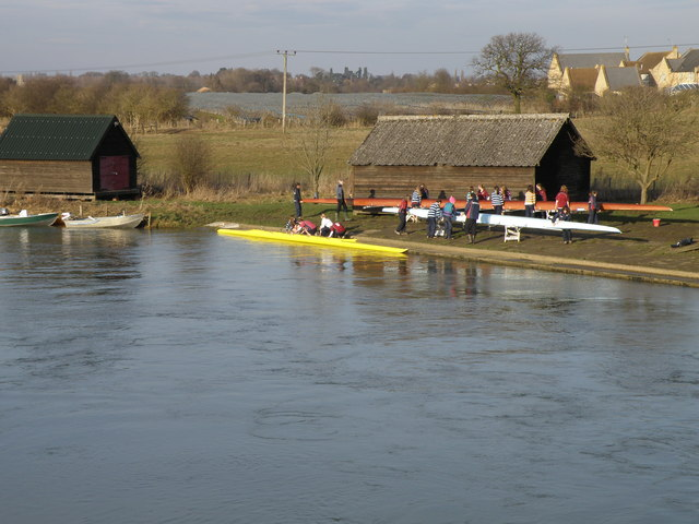 Rowing Club on the river at Oundle