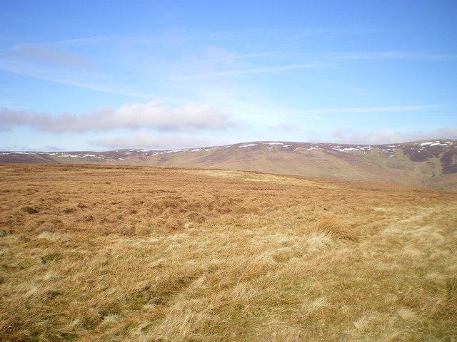 Moorland below Post Gwyn