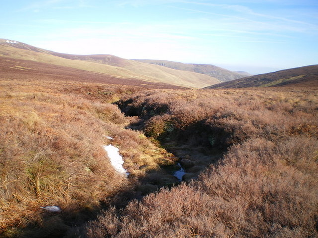 The headwaters of the Afon Disgynfa