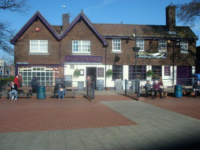 Brewery Shades Public House, High Street, Crawley