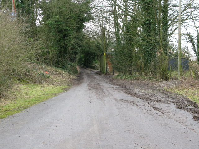 Track leading to Creteway Down
