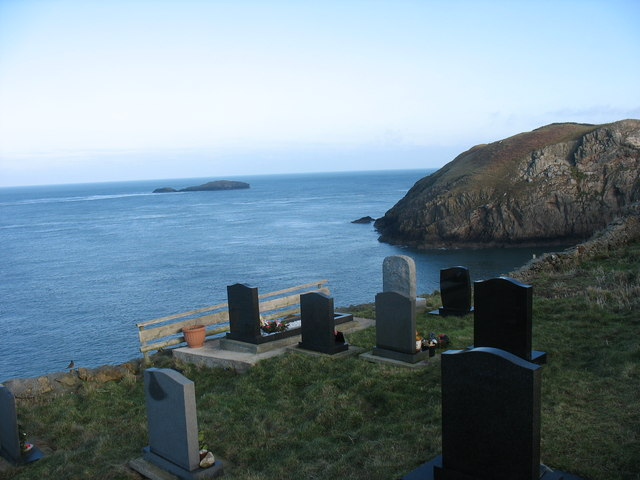 The most northerly graves in Wales