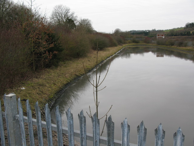 Reservoir between the A20 and Alkham Valley Road