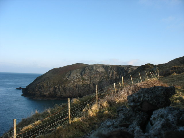 The coastline east of Llanbadrig Church