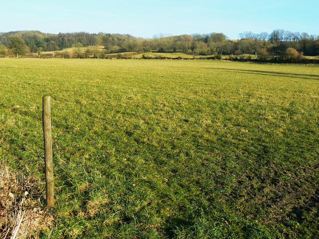 Farmland near Highway Hill