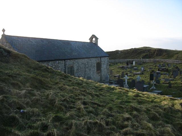 Llanbadrig Church from the East