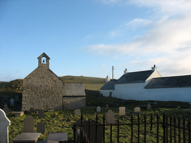Llanbadrig Church from the West